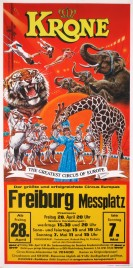 Circus Krone Circus poster - Germany, 1989