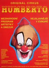 Cirkus Humberto Circus poster - Czech Republic, 2004