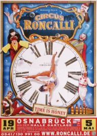 Circus Roncalli Circus poster - Germany, 2013