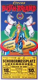 Circus Busch-Roland Circus poster - Germany, 1993