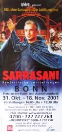 Circus Sarrasani Circus poster - Germany, 2001
