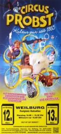 Circus Probst Circus poster - Germany, 2013