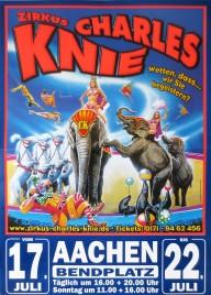 Zirkus Charles Knie Circus poster - Germany, 2012