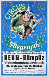 Circus Fliegenpilz Circus poster - Germany, 1987
