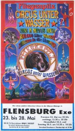 Circus Fliegenpilz Circus poster - Germany, 1999