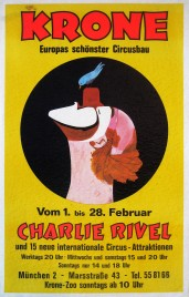Circus Krone Circus poster - Germany, 1971