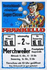 Circus Frankello Circus poster - Germany, 1986