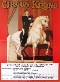 Circus Krone Circus poster - Germany, 1998