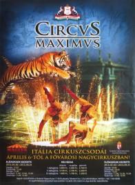 Circus Maximus Circus poster - Hungary, 2013