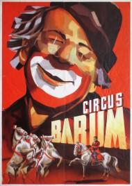 Circus Barum Circus poster - Germany, 1956