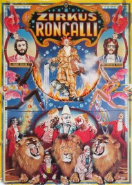 Zirkus Roncalli Circus poster - Germany, 1976