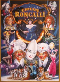 Circus Roncalli Circus poster - Germany, 1991