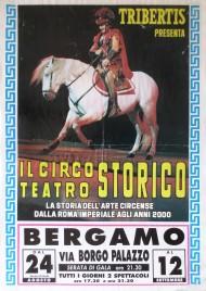 Circo Tribertis Circus poster - Italy, 1990