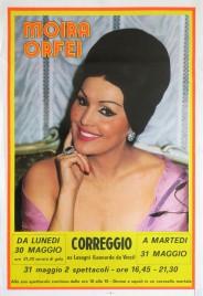 Circo Moira Orfei Circus poster - Italy, 1988
