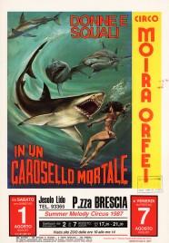 Circo Moira Orfei Circus poster - Italy, 1987