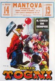 Circo Darix Togni Circus poster - Italy, 1982