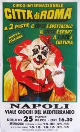 Circo Citta' di Roma Circus poster - Italy, 0