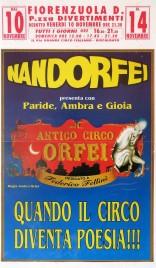Nando Orfei - Antico Circo Orfei Circus poster - Italy, 0