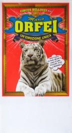 Circo Bellucci + Mario Orfei Circus poster - Italy, 2011