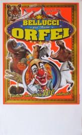 Circo Bellucci + Mario Orfei Circus poster - Italy, 0