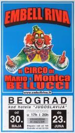 Circo Embell Riva Circus poster - Italy, 2002