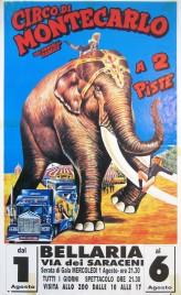 Circo di Montecarlo Circus poster - Italy, 1990