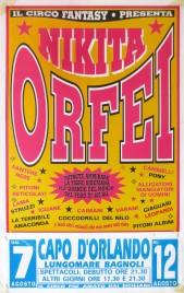 Circo Fantasy presenta Nikita Orfei Circus poster - Italy, 0