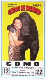 Circo de Madrid Circus poster - Italy, 1994