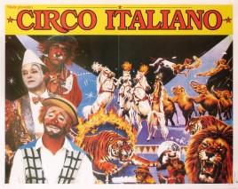 Circo Italiano Circus poster - Italy, 1995