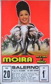 Moira piu' il Circo di Mosca Circus poster - Italy, 1998