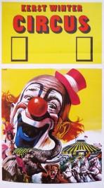 Kerst Winter Circus Circus poster - Netherlands, 0