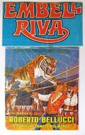 Circo Embell Riva Circus poster - Italy, 1981