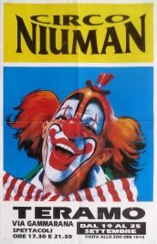 Circo Niuman Circus poster - Italy, 0