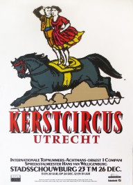 Kerstcircus Circus poster - Netherlands, 1989