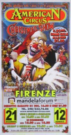 American Circus Circus poster - Italy, 2013