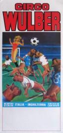Circo Wulber Circus poster - Italy, 1986