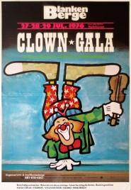 Clown Gala International Festival Circus poster - Netherlands, 1976