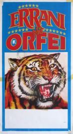 Circo Errani + Orfei Circus poster - Italy, 1997