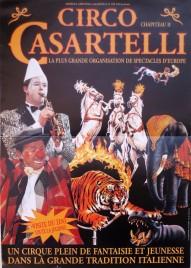 Circo Casartelli Circus poster - Italy, 1992