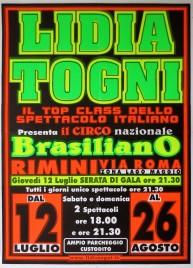 Circo Lidia Togni Circus poster - Italy, 2001