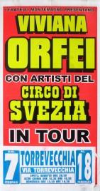 Viviana Orfei + Circo di Svezia Circus poster - Italy, 0