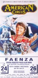 American Circus Circus poster - Italy, 2003