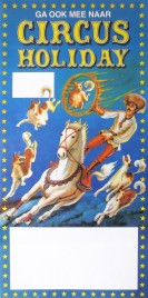 Circus Holiday Circus poster - Netherlands, 1985