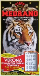 Circo Medrano Circus poster - Italy, 2013
