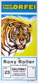 Circo Paride Orfei + Rony Roller Circus poster - Italy, 1994