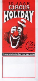 Circus Holiday Circus poster - Netherlands, 1989