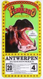 Il Florilegio di Darix Togni Circus poster - Italy, 1993