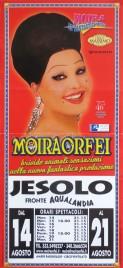 Circo Moira Orfei Circus poster - Italy, 2007