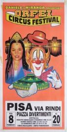Orfei Circus Festival Circus poster - Italy, 1995