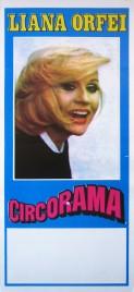 Circo Liana Orfei Circus poster - Italy, 1982